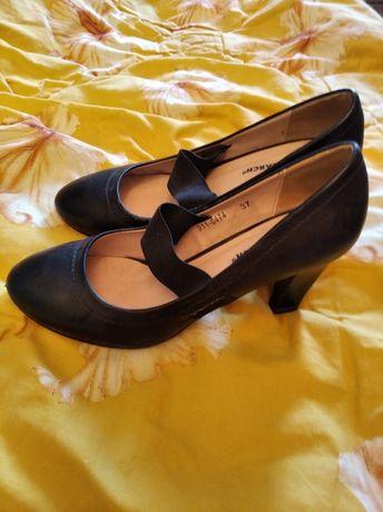 Туфли кожаные Монарх 37 разм