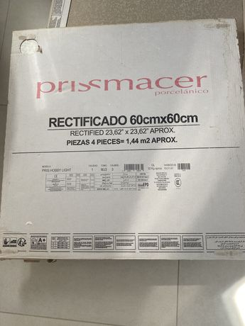 Плитка напольная Prissmacer 600х600