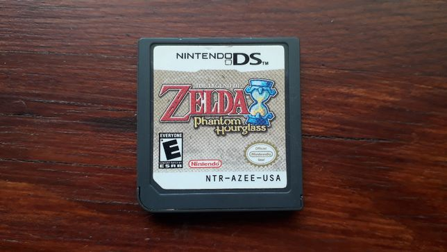 gra nintendo DS The Legend of Zelda Phantom Hourglass
