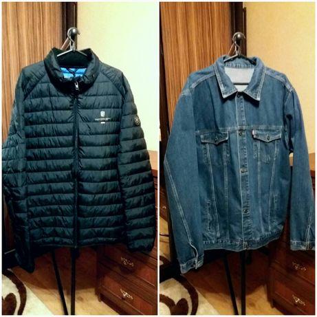 Мужская куртка, большой размер.