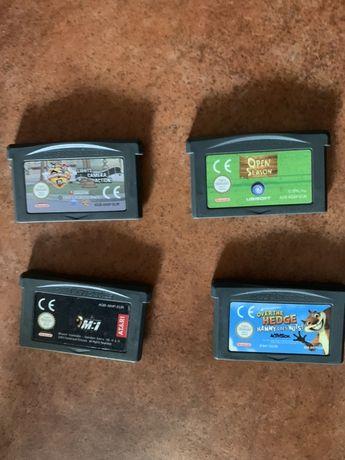 Cassetes Gameboy Advance