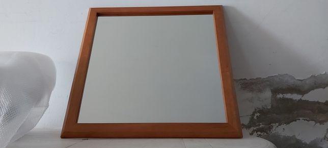 Espelho de madeira  1 mt x 1mt