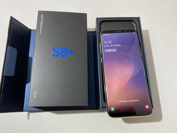 Samsung Galaxy S8+ /S8 plus 64GB Srebrny Silver jak Nowy gwarancja
