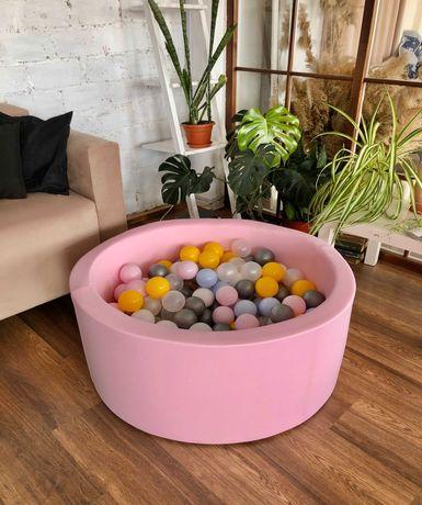 Дитячий сухий басейн з кульками Voodi. В наявності різні кольори