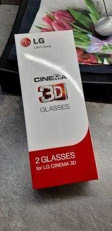 Okulary 3D LG Cinema,2szt. Nowe!!!