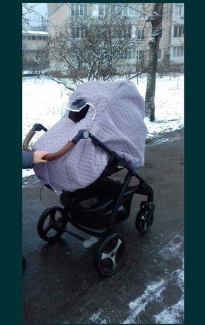 Дождевик-чехол на коляску