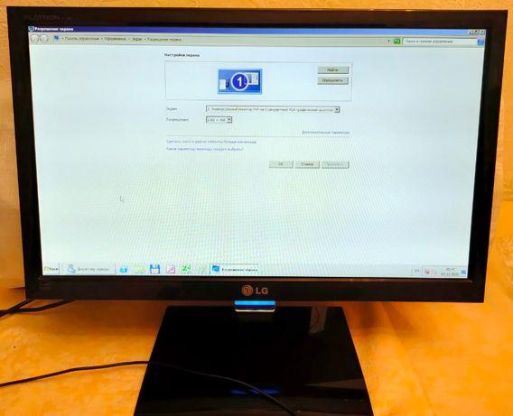 Суперстильный монитор LG Electronics Flatron E1960S-PN в отл. сост.