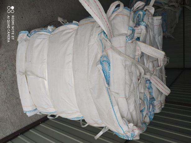 Używany Worek Big Bag idealny na kamień/ 90x90x130cm / Hurtownia