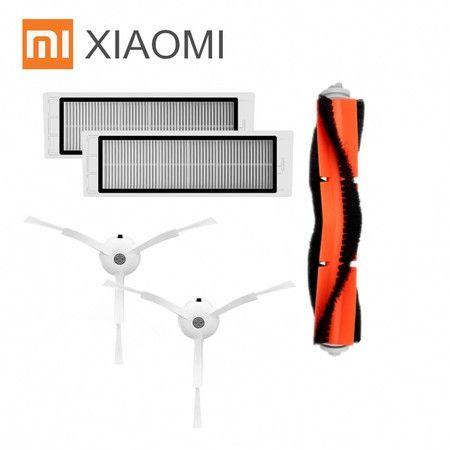 [Набор] Щетки, фильтр для робота пылесоса Xiaomi Roborock S50 S55 S51