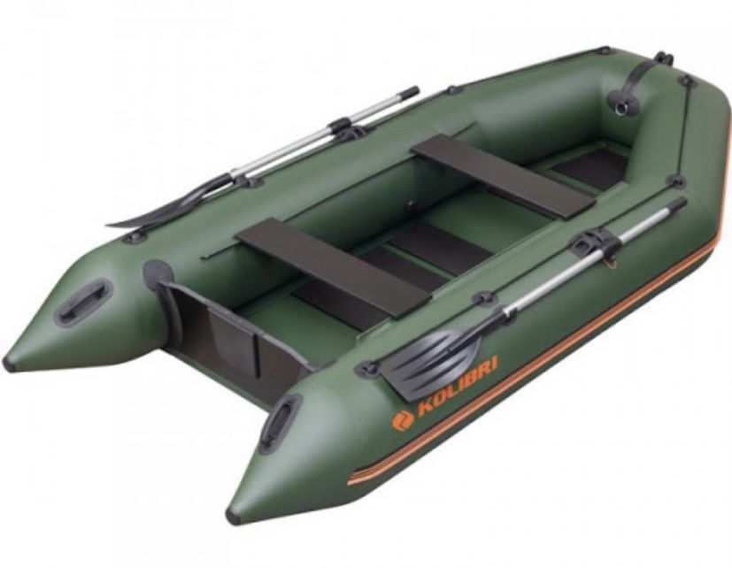 Лодка Колибри КМ-330 Степная - изображение 1