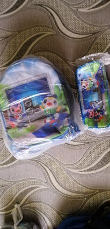 Рюкзак с пеналом для мальчика