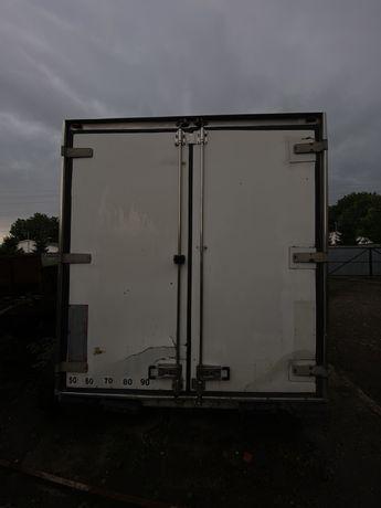 Термобудка полупрецеп прицеп без коліс ізотермічний фургон ТОРГ