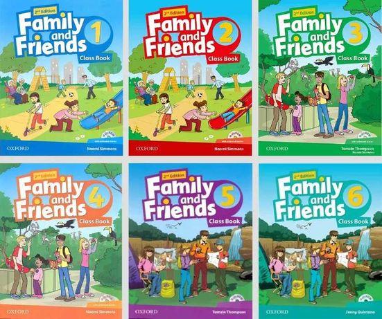Печать Solutions, English File, Family and Friends (любые книги)