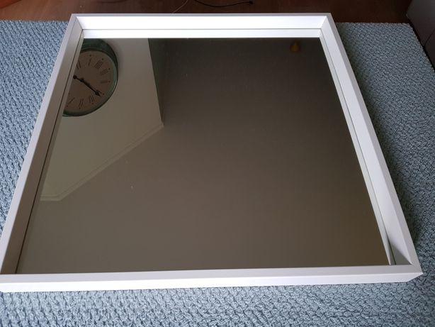Espelho branco 65x65cm