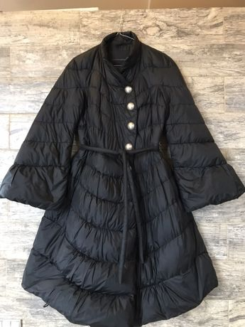 Пальто пух перо Ermanno Scervino 100% оригинал