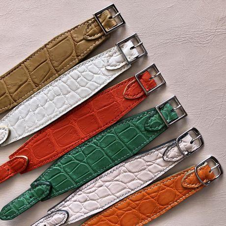 Продам браслеты из кожи крокодила.