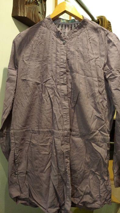 Dłuższa bluzka koszulowa, kieszenie, Cropp chillin, rozmiar M Błędów - image 1