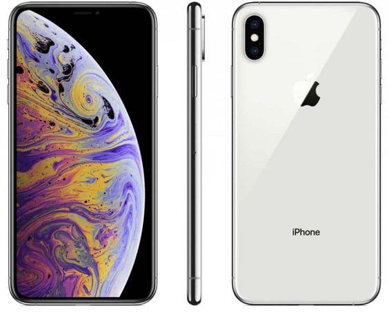 SÓ HOJE 350 euros iPhone XS Max branco e prateado como novo