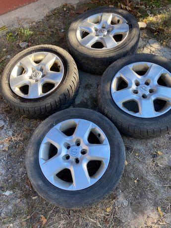 Продам зимнюю резину с дисками Opel 215/55/16