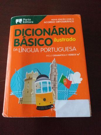Dicionário Básico Ilustrado-Porto Editora