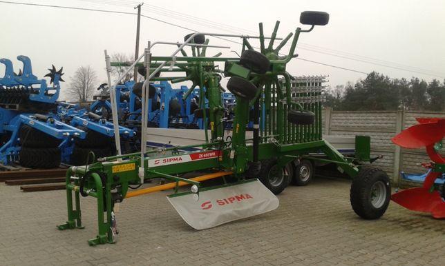 Zgrabiarka 2 Karuzelowa 6,5m do 8m SIPMA ZK 650 WIR Inter-Tech ZKD-800