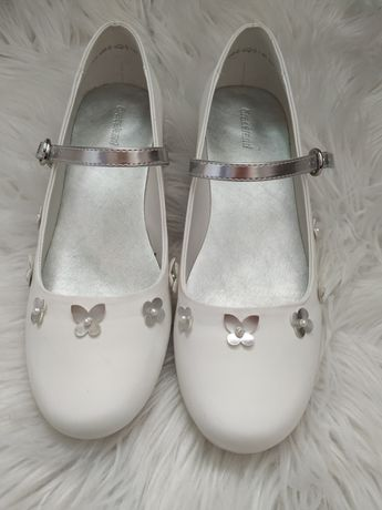 Buty komunijne dziewczęce r 37