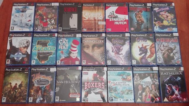 JOGOS PS2 NOVOS, Capcom, Acclaim, Namco, Sierra, Ubisoft, RockStar