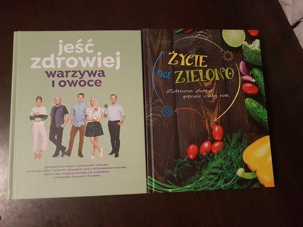 Życie na zielono, Jeść zdrowiej warzywa i owoce książki