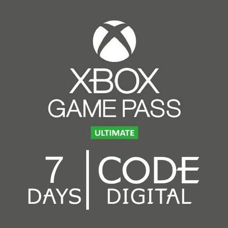 Xbox game pass 7 dni