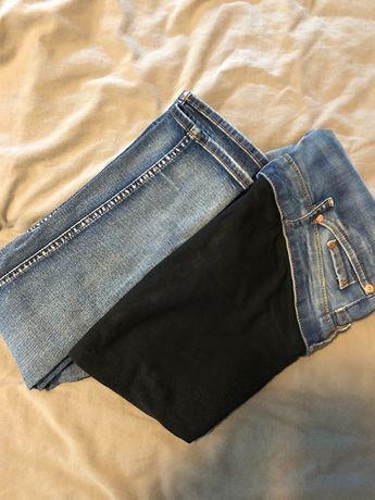 Jeansy ciążowe H&M (rozmiar 38) - wysyłka gratis (Paczkomat)!