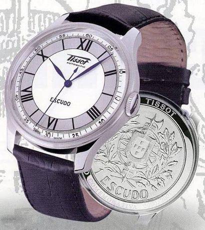 Relógio Tissot Escudo - Edição Comemorativa