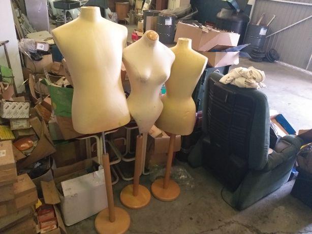 2 x manequins montra