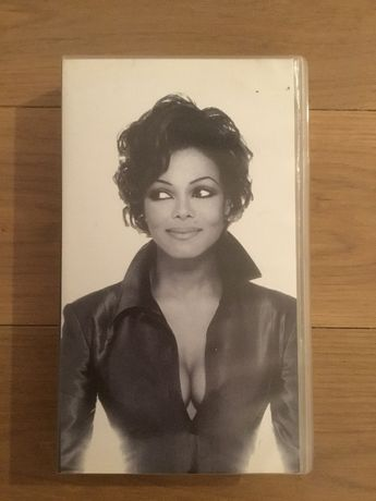Kaseta VHS Janet Jackson