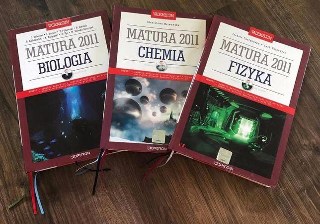 Matura 2011 biologia, chemia, fizyka