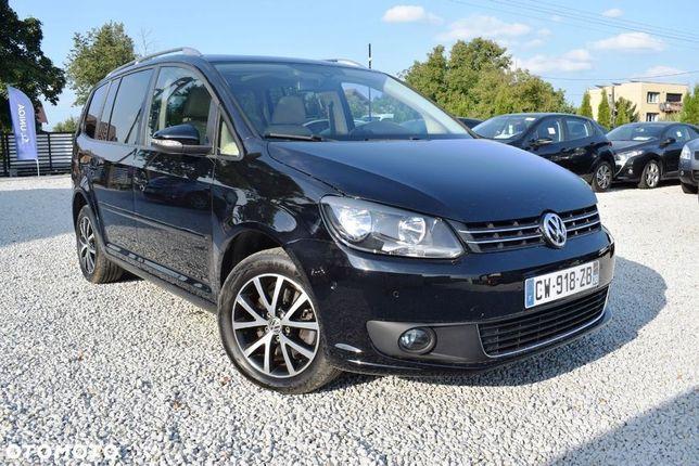 Volkswagen Touran Touran 2.0 TDI 140KM DSG, Klimatronic, Alusy Opłacony