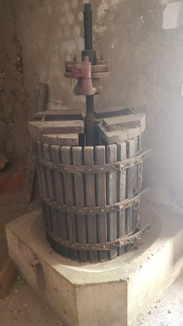 Prensa vinho completa