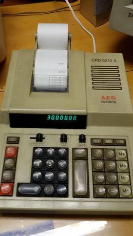 Máquina calculadora / registadora AEG - PROMOÇÃO