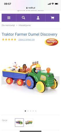 Wesoły traktorek Dumel Discavery