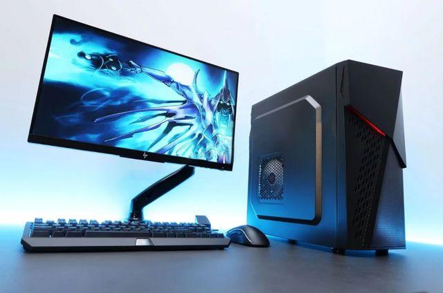 ИГРОВОЙ ДРАКУЛА! ПК i7+GTX1060 SSD Системный блок Компьютер Мощь