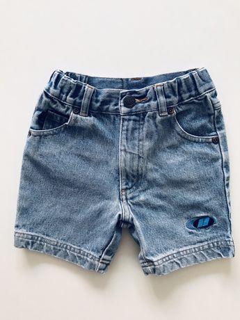Next jeansowe spodenki 92/98