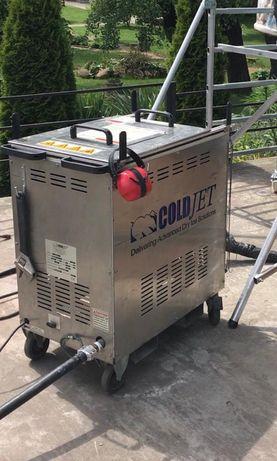 Skup, serwis, wypozyczalnia maszyn do czyszczenia suchym lodem.