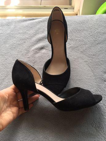 Sandałki czółenka szpilki hm 38