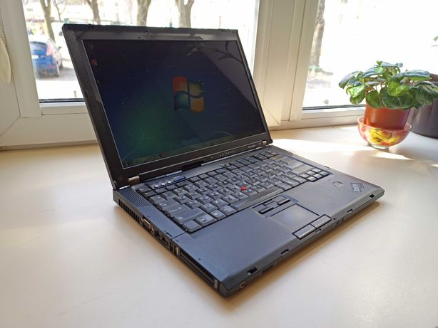 Ноутбук Lenovo ThinkPad T61 (Intel 2x2GHz/RAM 2.5Gb/HDD 320Gb/АКБ 3ч.)