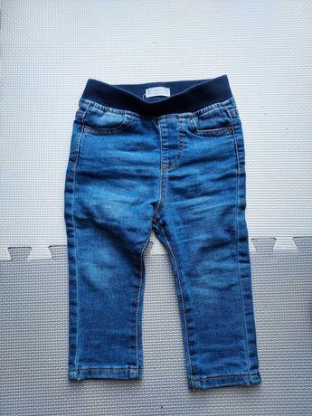 Spodnie jeans rozmiar 80