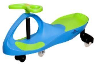 rowerek biegowy jeździk grawitacyjny niebieski zielony