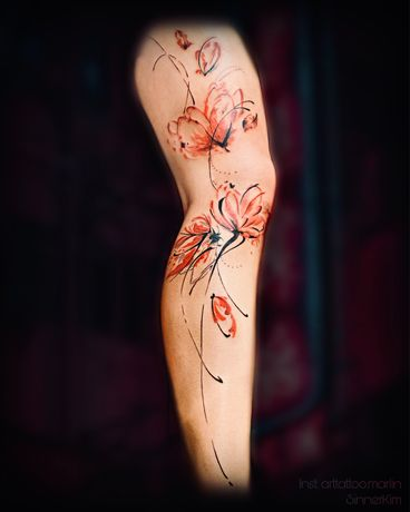 Татуировки Тату в студии «Marlin» на Сталеваров 7!