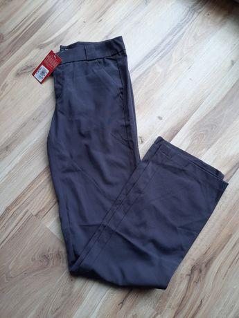 Ciemnoszare spodnie