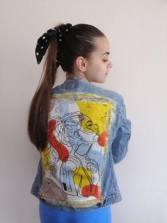Katana, kurtka jeansowa levi's Handmade
