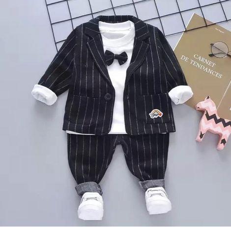 Стильный костюм тройка для мальчика на годик день рождения