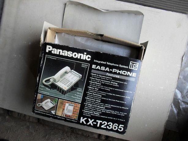 Телефоны умные 2шт. Panasonic Быстрый набор LCD дисплей Часы Проводной
